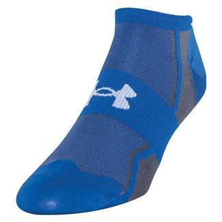 Under Armour Speedform Ultra Low Tab Running Socks Scatter Blue