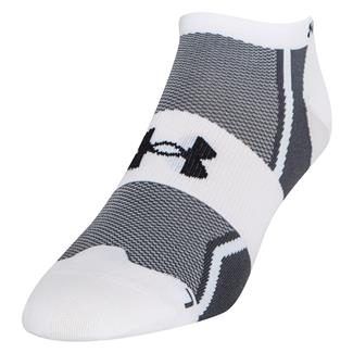 Under Armour Speedform Ultra Low Tab Running Socks White