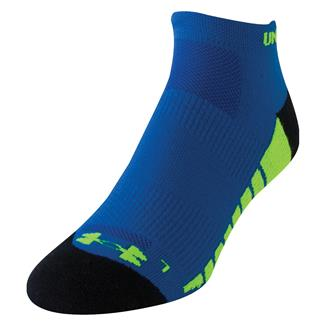 Under Armour Full Cushion Running Socks Scatter Blue / Black
