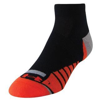 Under Armour Selective Cushion Running Socks Black / Volcano Orange