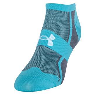 Under Armour Speedform Ultra Low Tab Running Socks Breathtaking Blue