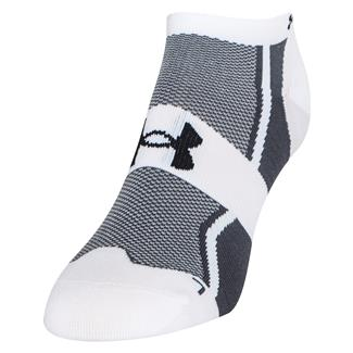 Under Armour Speedform Ultra Low Tab Running Socks White