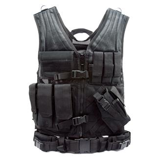 Condor Crossdraw Vest Black