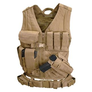 Condor Crossdraw Vest Tan