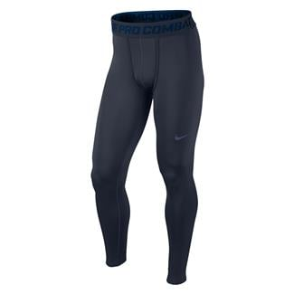 NIKE Hyperwarm Dri-Fit Max Compression SF Tights Navy
