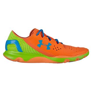 Under Armour SpeedForm Apollo Blaze Orange / Hyper Green / Electric Blue