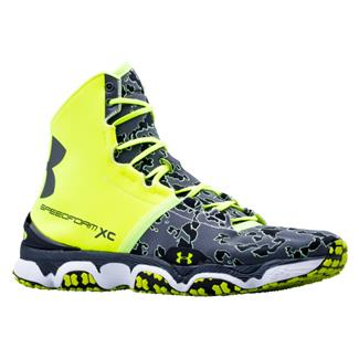 Under Armour SpeedForm XC MID High Vis Yellow / White / Charcoal