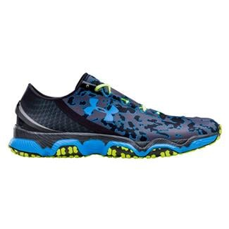 Under Armour SpeedForm XC Black / High Vis Yellow / Electric Blue