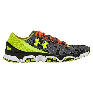 Under Armour SpeedForm XC Charcoal / High Vis Yellow / Black