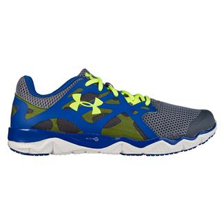 Under Armour Micro G Monza Night Gravel / Scatter / High Vis Yellow