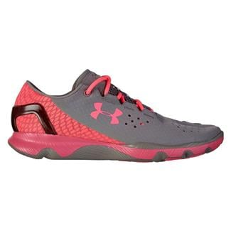 Under Armour SpeedForm Apollo Steeple Gray / Cerise / Cerise