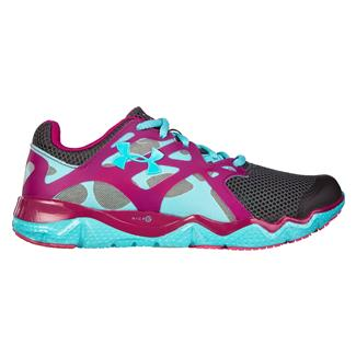 Under Armour Micro G Monza Night Charcoal / Breathtaking Blue / Magenta Shock