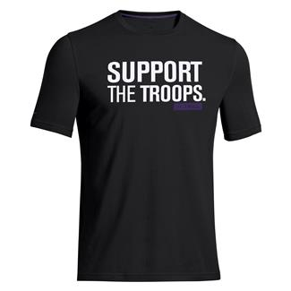 Under Armour Tactical Support I Will Tee Black / White