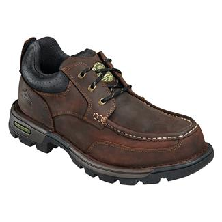 Wood N' Stream Pioneer Moc Toe Oxford Crazyhorse Brown