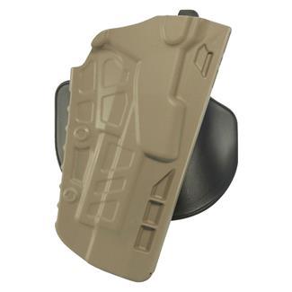 Safariland 7TS ALS Concealment Paddle Holster SafariSeven Plain FDE Brown