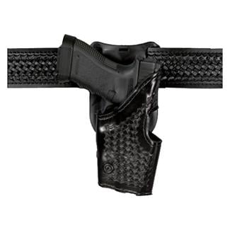 Safariland Low Ride Level II Retention Holster Basket Weave Black