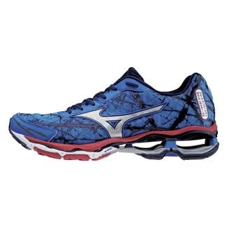 Mizuno Wave Creation 16 Turkish Sea / Silver / Chinese Red