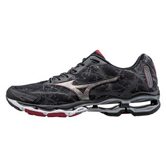 Mizuno Wave Creation 16 Black / Silver / Chinese Red