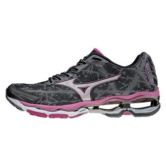 Mizuno Wave Creation 16 Black / Silver / Fuchsia Purple