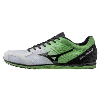 Mizuno Wave Ekiden 9 White / Black / Classic Green