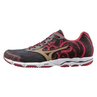 Mizuno Wave Hitogami 2 Black / Gold / Haute Red