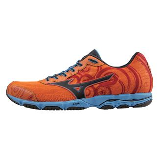 Mizuno Wave Hitogami 2 Vibrant Orange / Black / Dude Blue