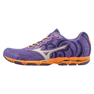 Mizuno Wave Hitogami 2 Deep Lavender / Silver / Orange Popsicle