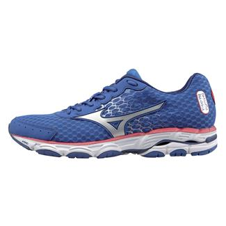 Mizuno Wave Inspire 11 Turkish Sea / Silver / Tomato