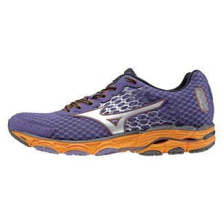 Mizuno Wave Inspire 11 Mulberry Purple / Silver / Orange Popsicle