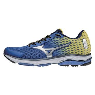 Mizuno Wave Rider 18 Turkish Sea / Silver / Cyber Yellow