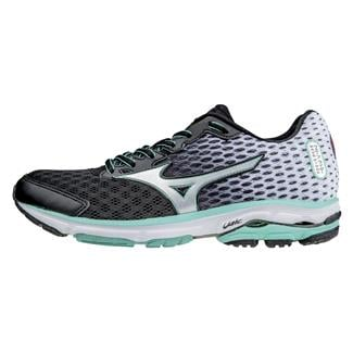 Mizuno Wave Rider 18 Black / Silver / Florida Keys