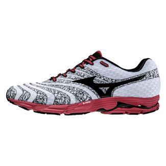 Mizuno Wave Sayonara 2 White / Black / Chinese Red