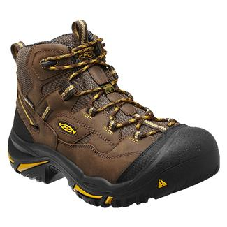 Keen Utility Braddock Mid ST WP Cascade Brown / Tawny Olive