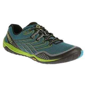 Merrell Trail Glove 3 Algiers Blue / Lime Green