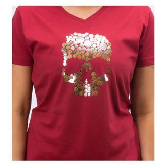 5.11 Skull Caliber T-Shirt Merlot