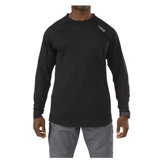 5.11 Long Sleeve Sub-Z Crew Shirt Black