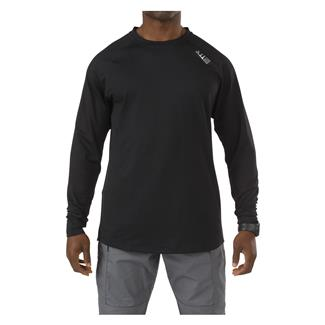 5.11 Long Sleeve Sub-Z Crew Shirt Black
