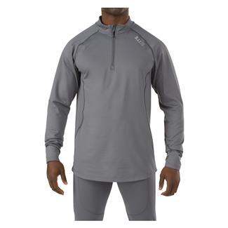 5.11 Long Sleeve Sub-Z Quarter Zip Shirt Storm