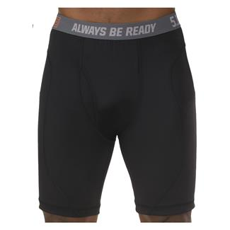 "5.11 9"" Performance Boxer Briefs Black"
