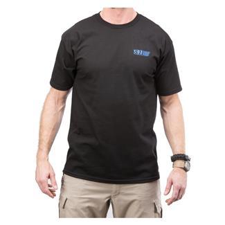 5.11 Red Scope T-Shirt Black