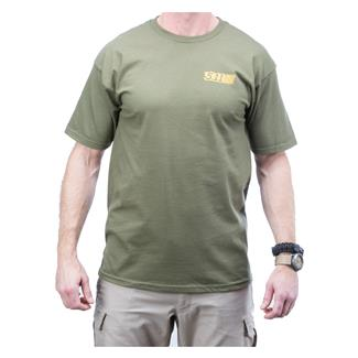 5.11 Red Scope T-Shirt OD Green