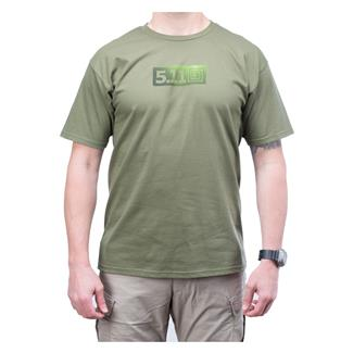 5.11 High Low T-Shirt OD Green