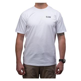 5.11 Scope Photo T-Shirt White