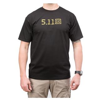5.11 Skull Caliber T-Shirt Black