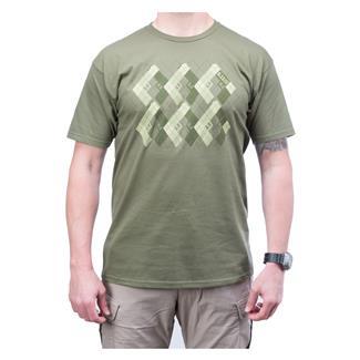5.11 Pistol Prep T-Shirt OD Green
