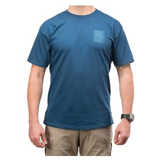 5.11 Proud Bird T-Shirt Harbor Blue