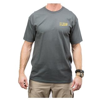 5.11 Digital Buck T-Shirt Charcoal