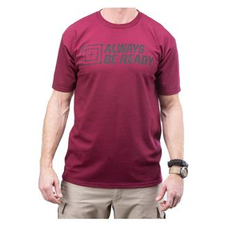 5.11 ABR 2.0 T-Shirt Burgundy