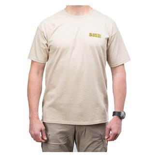 5.11 Buckshot T-Shirt Tan