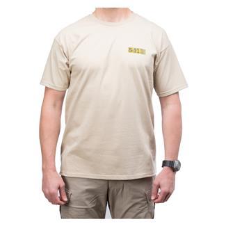 5.11 Buckshot T-Shirt Tan
